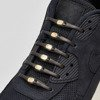 Hickies Metallics Black Gold